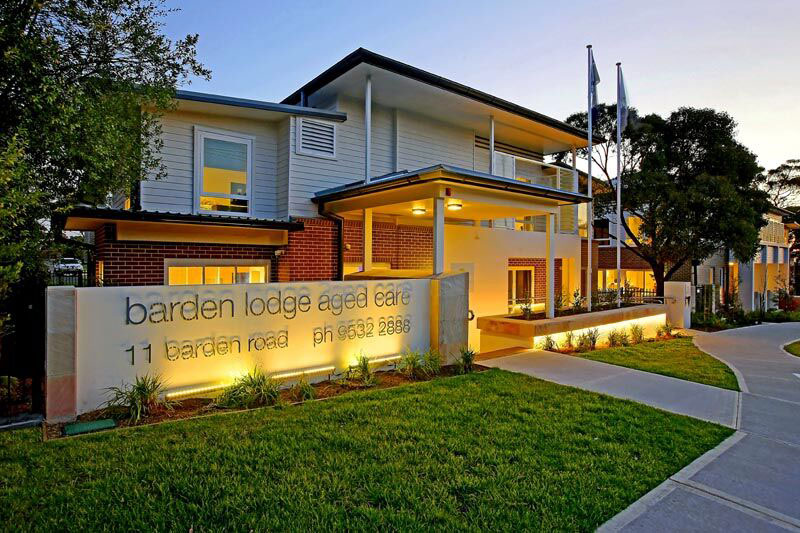 Barden Lodge Aged Care Facility
